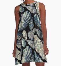 Oyster Shells A-Line Dress