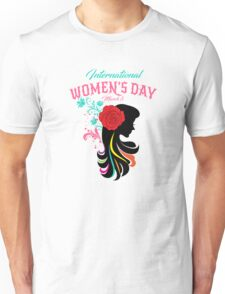 International Women's Day Be Bold For Change  Unisex T-Shirt
