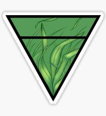 Earth symbol Sticker