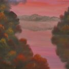 Autumn Sunset by David Snider