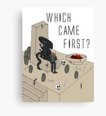 Which Came First? Canvas Print