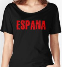 Spain Women's Relaxed Fit T-Shirt