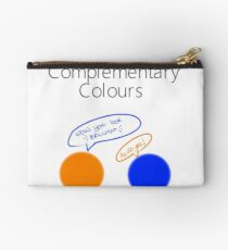 Complementary Colours Pun Zipper Pouch