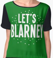 Let's BLARNEY Chiffon Top