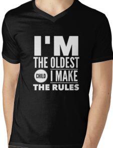 Oldest Child Make The Rules Eldest First Mens V-Neck T-Shirt