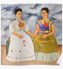 Die zwei Fridas Poster