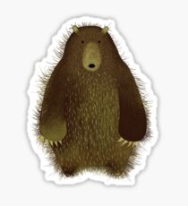 Barnsley the Big Bear. Sticker