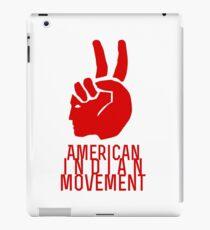 American Indian Movement iPad Case/Skin