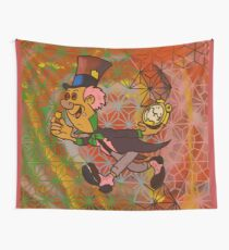 mad hatter blotter Wall Tapestry