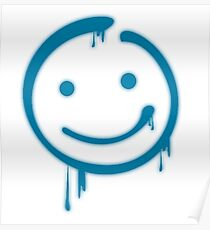 Moriarty Smiley Poster