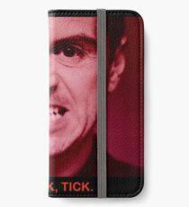 MORIARTY TICK BBC SHERLOCK iPhone Wallet/Case/Skin