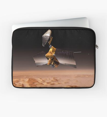 Mars Reconnaissance Orbiter passiert den Planeten Mars. Laptoptasche