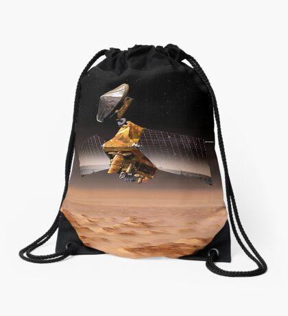 Mars Reconnaissance Orbiter passiert den Planeten Mars. Turnbeutel