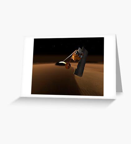 Konzept für Mars Volcanic Emission Life Scout. Grußkarte