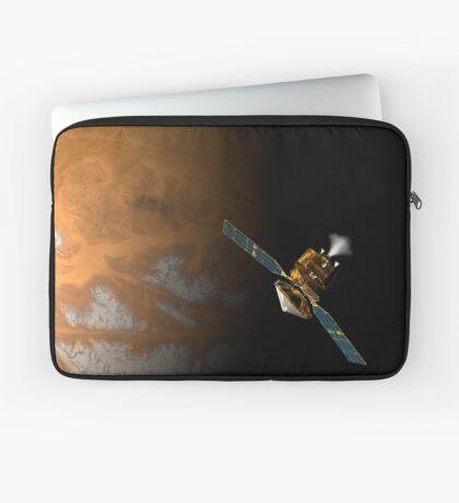 Ein Künstlerkonzept des Mars Reconnaissance Orbiter der NASA. Laptoptasche