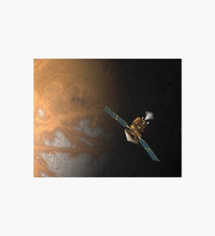 Ein Künstlerkonzept des Mars Reconnaissance Orbiter der NASA. Galeriedruck