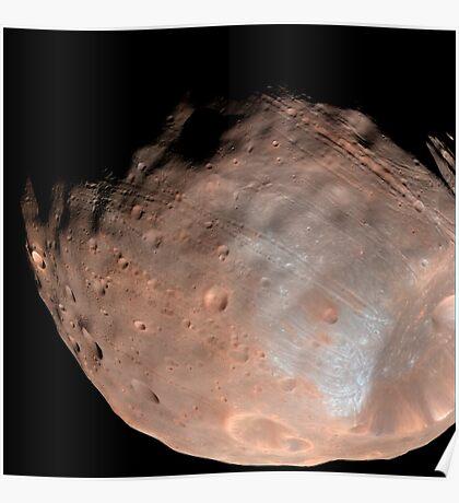 Mars Mond Phobos. Poster