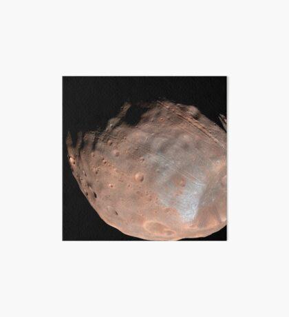 Mars Mond Phobos. Galeriedruck