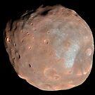 Mars Mond Phobos. von StocktrekImages
