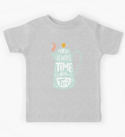 Tea saying Kids Clothes