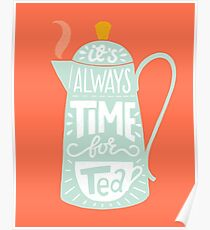 Tea saying Poster