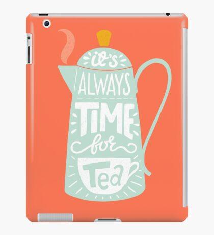 Tea saying iPad Case/Skin