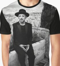 Boy George (Tribes recording session) Graphic T-Shirt