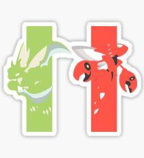 RG: Scyther - Scizor Sticker