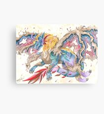 Autumn Dragon Canvas Print