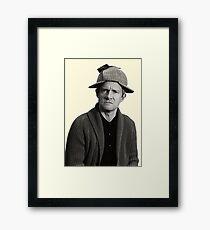 John - Deerstalker Framed Print
