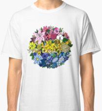 Pan Pride Flowers Classic T-Shirt
