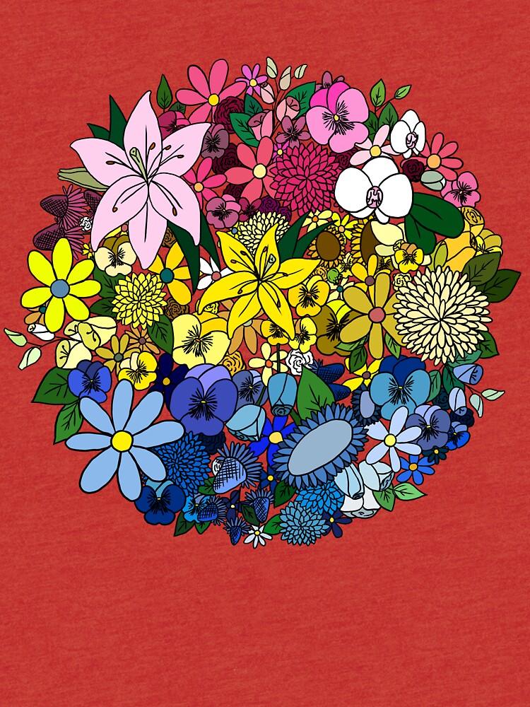 Pan Pride Blumen von elleniona
