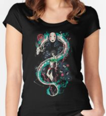 Spirited Graffiti Women's Fitted Scoop T-Shirt
