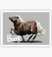 Animal Farm - Boxer Sticker