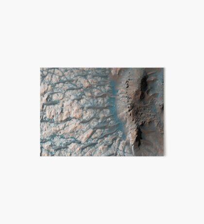 Teil des Bodens eines großen Einschlagskraters im südlichen Hochland auf dem Mars. Galeriedruck