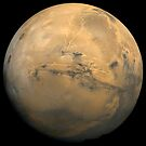 Globales Mosaik des Mars. von StocktrekImages