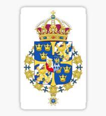 Sweden Coat of Arms Sticker
