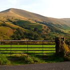 Hills near Castleton, Derbyshire, UK by GeorgeOne