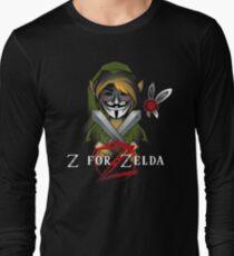 Z for Zelda Long Sleeve T-Shirt