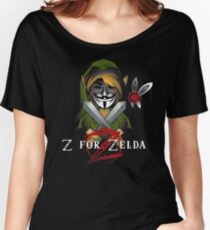 Z for Zelda Women's Relaxed Fit T-Shirt