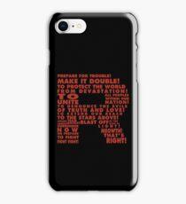 Team Rocket R Typography iPhone Case/Skin