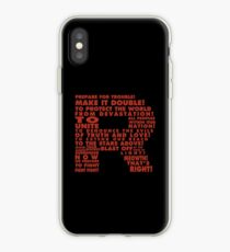 Team Rocket R Typography iPhone Case