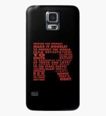 Team Rocket R Typografie Hülle & Klebefolie für Samsung Galaxy