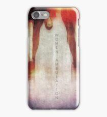 Women Ambulation  iPhone Case/Skin