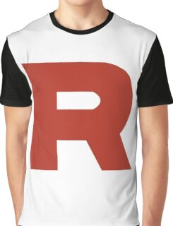 Team Rocket R Graphic T-Shirt