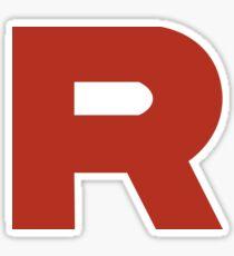 Team Rocket R Sticker