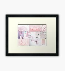 Chibi Moon Aesthetic #1 Framed Print