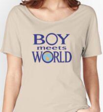 Boy meets world Women's Relaxed Fit T-Shirt