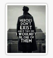 BBC Sherlock Heroes Dr Who Superwholock Tumblr John Watson Holmes Moriarty Sticker