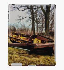 Vintage Forage Harvester iPad Case/Skin